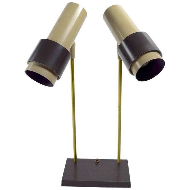 Thurston for Lightolier Two-Light Desk Lamp For Sale In New York - Image 6 of 6