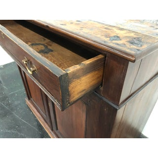 Antique Wood 2 Door Cabinet Preview