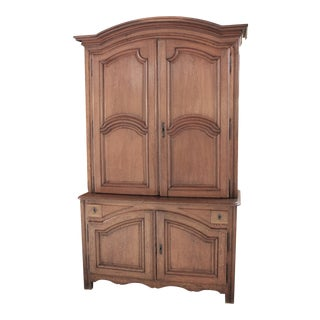 1750 Buffet a Deux Corps Cupboard For Sale
