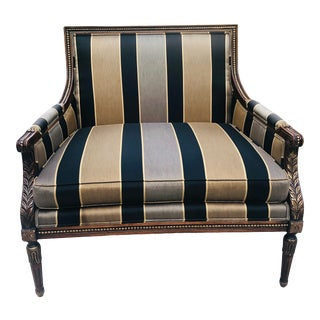 French Louis XVI Marquise Chair For Sale