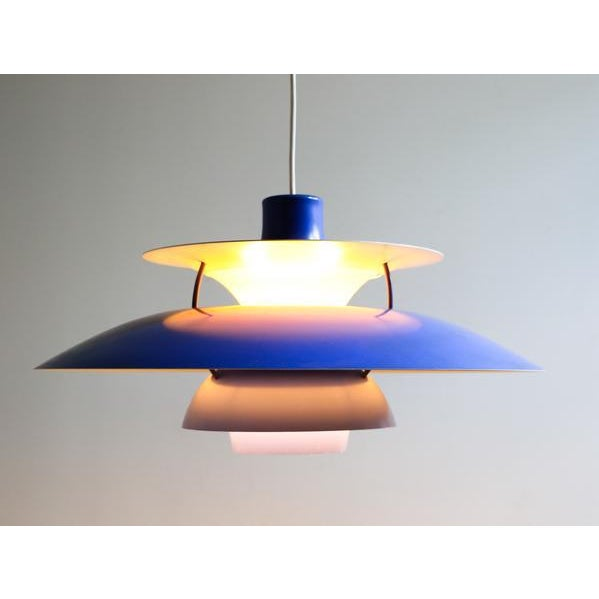 Paul Henningsen PH5 Pendant Light For Sale In New York - Image 6 of 7