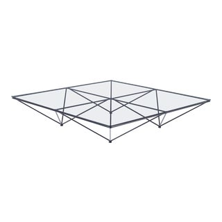 Alanda Square Coffee Table by Paolo Piva for B&b Italia For Sale