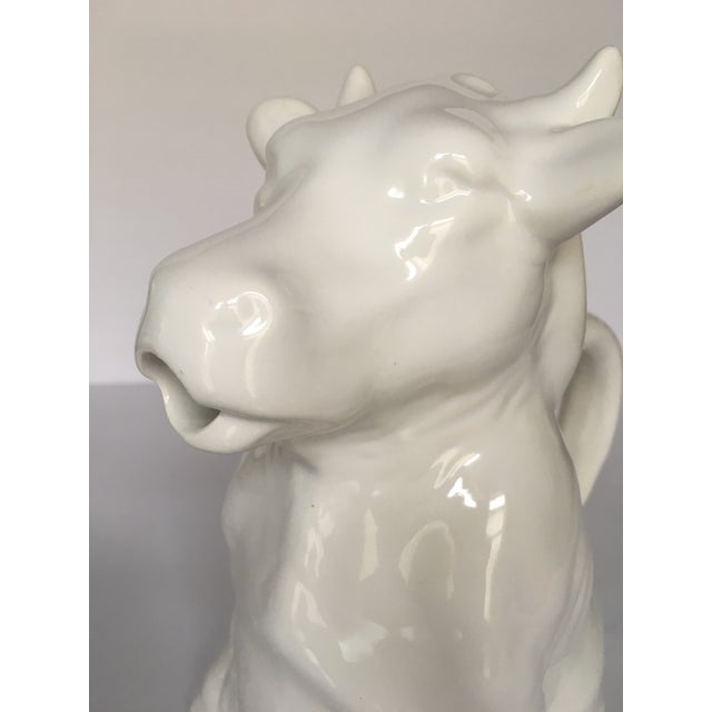 French Milk Cow Pitcher - Image 6 of 7