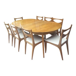 Drexel Mid-Century Dining Set For Sale