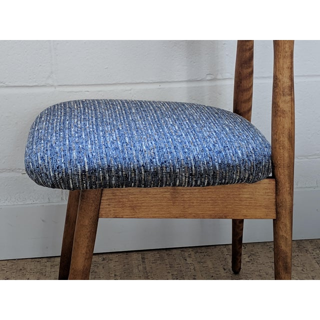 1960s Vintage Baumritter Style Side Chair For Sale - Image 10 of 11