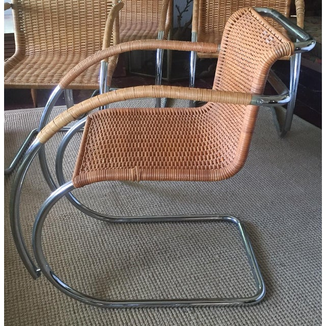 MCM Mies Van Der Rohe - Mr 20 Chairs - Set of 6 - Image 5 of 13