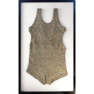 Framed 1930s Tahoe Men's One-Piece Bathing Suit