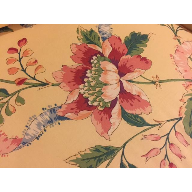 Vintage Vanguard Floral Chintz Loveseat For Sale In Chicago - Image 6 of 10