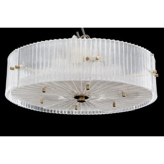 1960s Vintage Carl Fagerlund for Orrefors Chandelier Preview