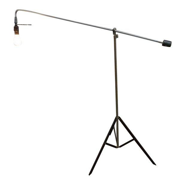 Roland Smith Tripod Floor Lamp For Sale - Image 9 of 9
