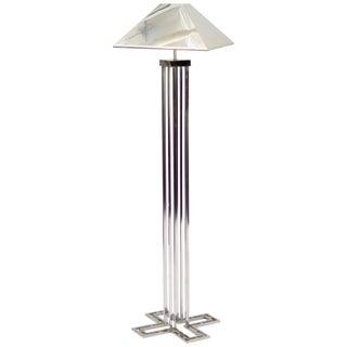 C. Jere Chrome Floor Lamp For Sale