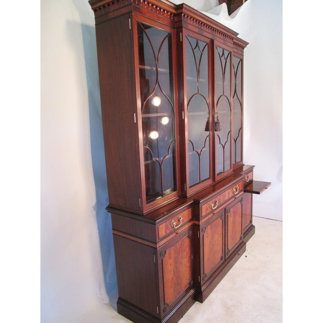 1940s Vintage China Cabinet by Schmieg and Kotzian For Sale - Image 9 of 13