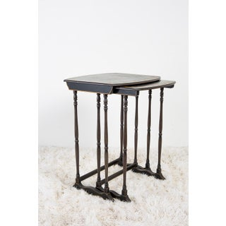 English Chinoiserie Nesting Tables Preview