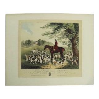 """""""Fox Hunting"""" Print For Sale"""