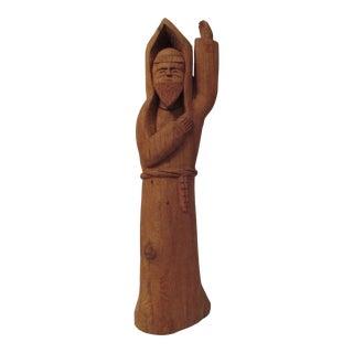 Leo Salazar Santos Wood Carving