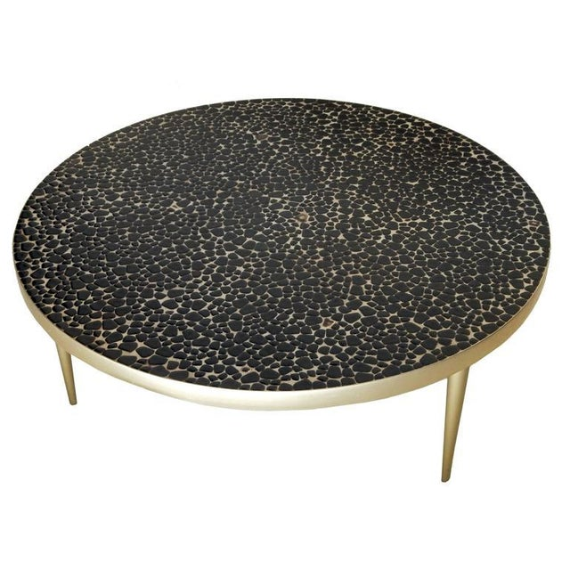 Mid-Century Modern Mid-Century Mosaic Tile Coffee Table For Sale - Image 3 of 8