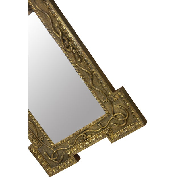 Hollywood Regency A Regency Mirror Depicting Serpents For Sale - Image 3 of 4