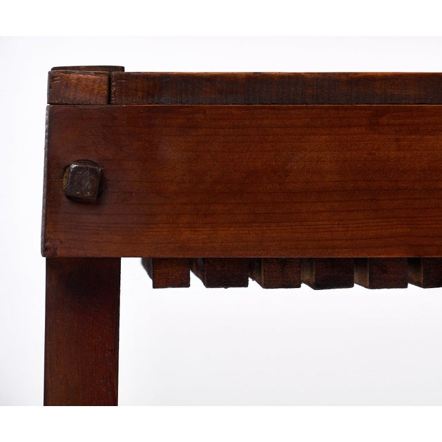 French Antique Fig Drying Console Table For Sale - Image 11 of 11