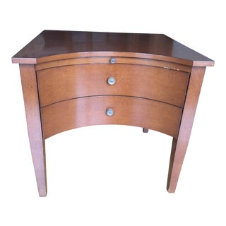 Nancy Corzine End Table With Drawers For Sale