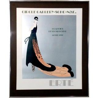 """Erte 1978 """"Splendeur"""" Exhibition Poster"""