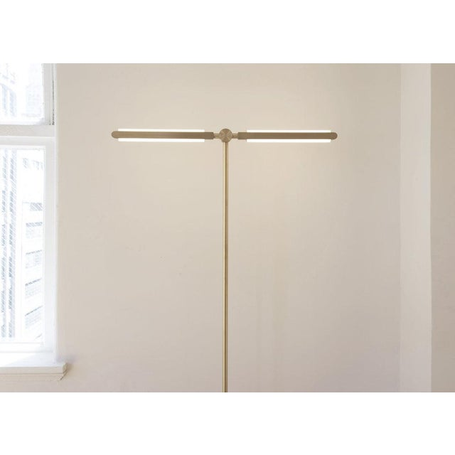 Not Yet Made - Made To Order Pelle Pris T Floor Lamp For Sale - Image 5 of 6