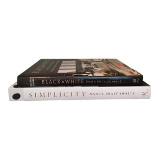 Hardcover Room Accent Books, 2 Book Set