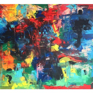 """Shawn Phalen """"Feeling the Colors"""" Contemporary Painting For Sale"""