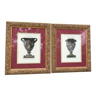 1980s Giovanni Piranesi the Harvest Urn Prints - a Pair For Sale