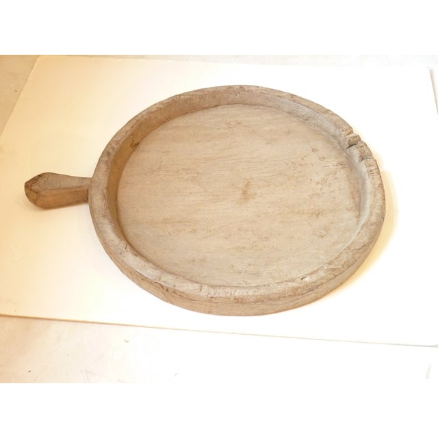 Rustic Wooden Olive Tray For Sale In Boston - Image 6 of 8