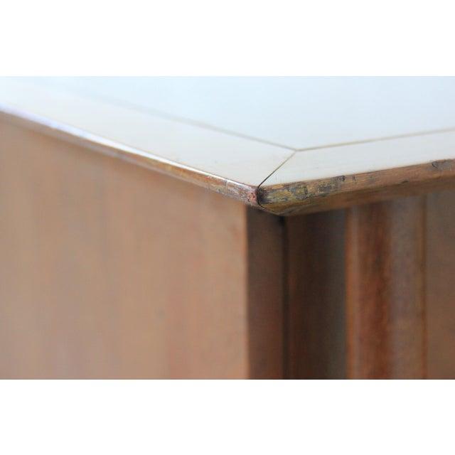 Mid-Century Modern Geometric 9-Drawer Dresser - Image 9 of 10