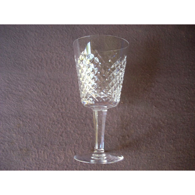 Waterford Waterford White Wine Crystal Goblets - Set of 8 For Sale - Image 4 of 5