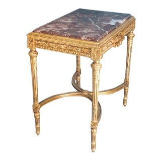 Louis XVI Style Reproduction Table For Sale