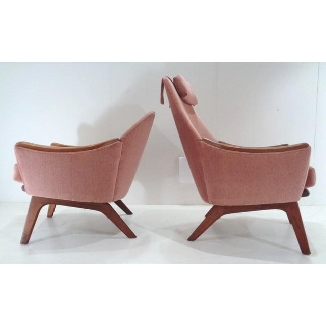 Mid Century His & Hers Adrian Pearsall Lounge Chairs For Sale In Nashville - Image 6 of 13