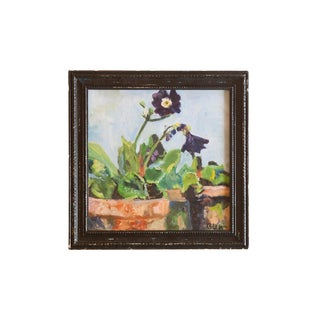 Grace Keogh Potted Flowers Painting For Sale
