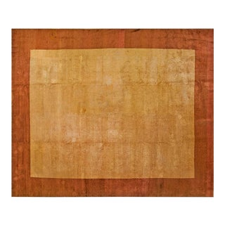 """1920s Chinese Art Deco Rug - 12'4""""x14'8"""" For Sale"""