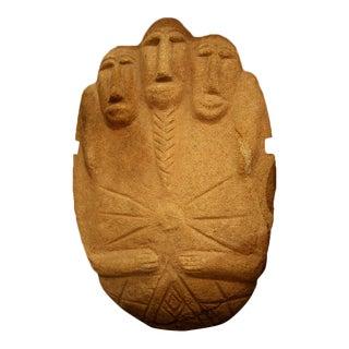 Multifigural Stone Sculpture