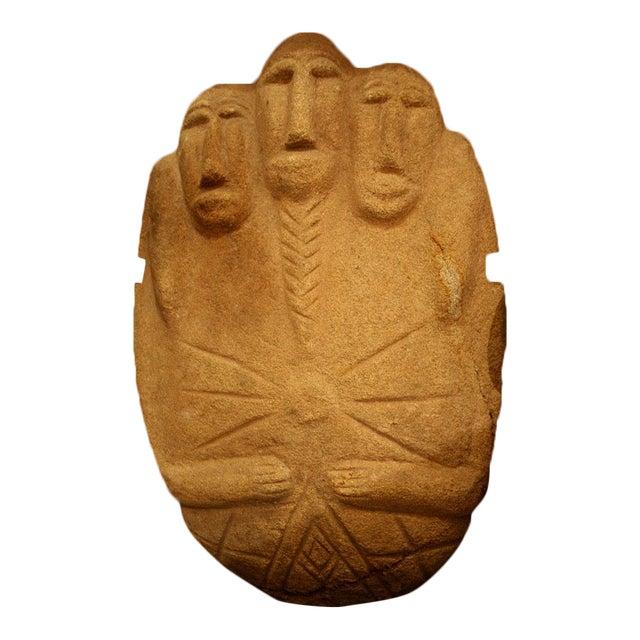 Multifigural Stone Sculpture For Sale