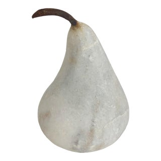 Small Marble Pear For Sale