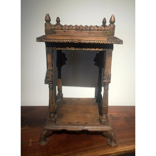 For the Hindu home and family, a small temple or mandir is a must have. This carefully crafted wooden altar showcases its...