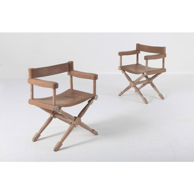 Paul Rodocanachi Art Deco 'Rodo' Chairs for Jean-Michel Frank For Sale - Image 6 of 13