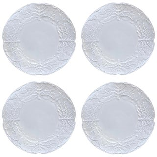 Mid-20th Century Cabbage Dessert Plates - Set of 4 For Sale