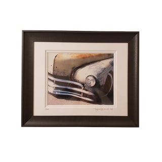 Original Framed and Signed Color Photography Print For Sale