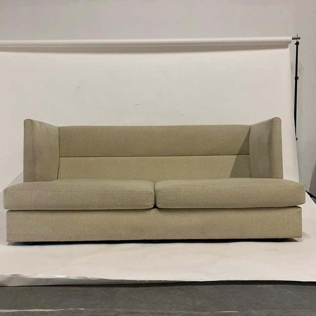 Textile Milo Baughman Shelter Sofa - Excellent For Sale - Image 7 of 11