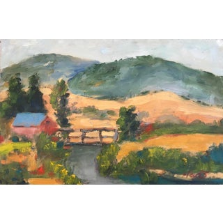 """""""On the Way Home"""" Plein Air Oil Painting For Sale"""