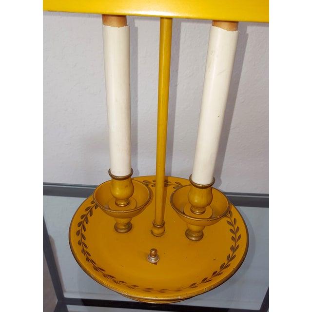 Golden Tole Desk Lamp - Image 3 of 6