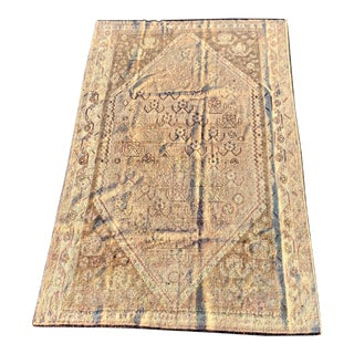 1940s Vintage Persian Shiraz Area Rug - 5′1″ × 8′2″ For Sale