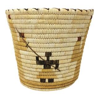 Vintage Tohono O'Odham Basket For Sale