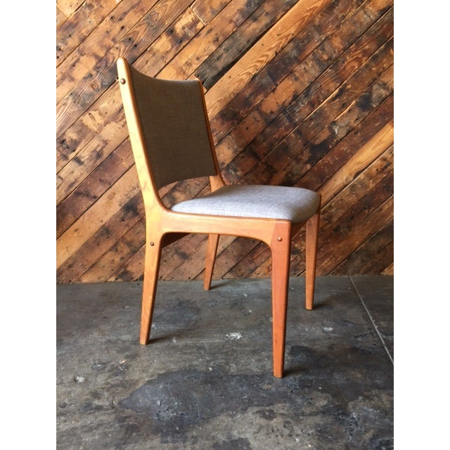 Danish Modern High-Back Chairs - Set of 8 - Image 3 of 9