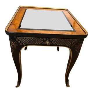 Chinoiserie Drexel Heritage Side Table For Sale