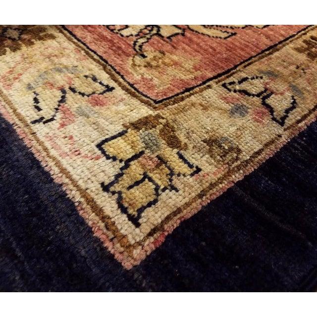 """Kafkaz Peshawar Hope Blue & Pink Wool Rug - 9'9"""" x 13'4"""" For Sale - Image 4 of 7"""